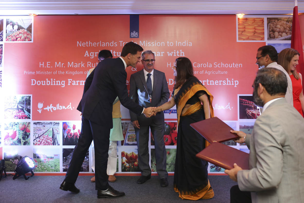 The Netherlands and India strengthened their partnerships in