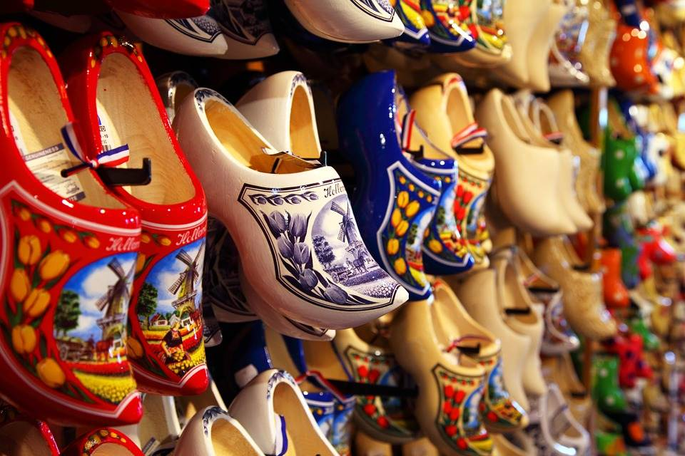 Handmade Color Dutch Craft Footwear