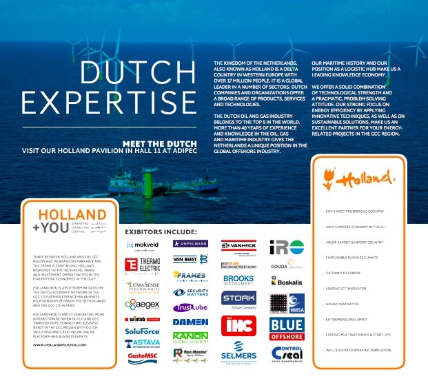 We welcome you to the Holland+You pavilion at ADIPEC in Abu Dhabi