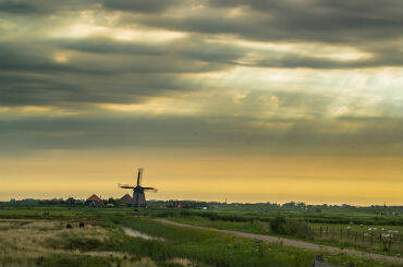 Agriculture Holland windmill