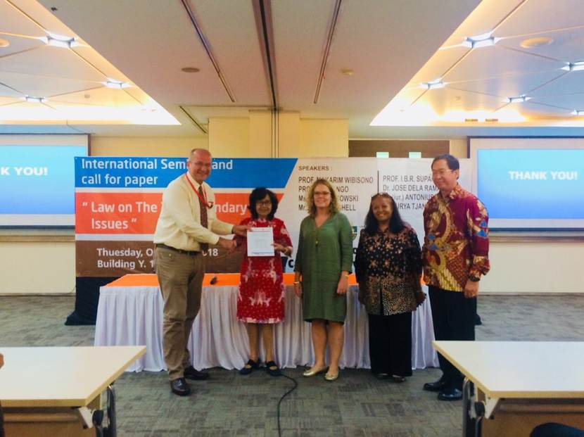 Launch of the Indonesia-Netherlands Legal Update Report