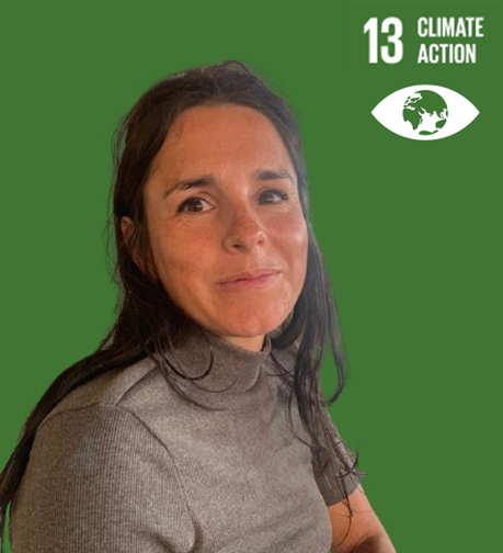 SDG 13: Climate action represented by employee Berbel