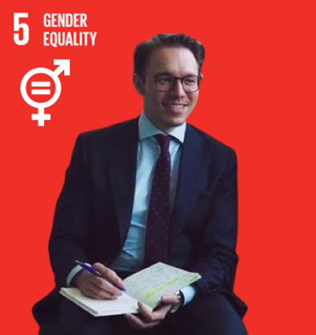 SDG 5: Gender equality represented by employee Terence