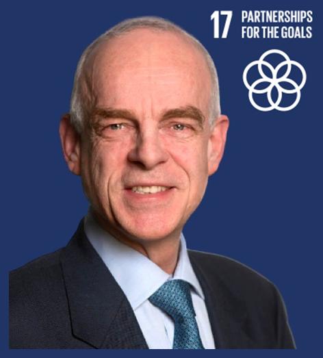 SDG 17: Partnership for the goals represented by Ambassador Aart Jacobi