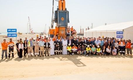 Mega project delivered by Van Oord in Kuwait | News item