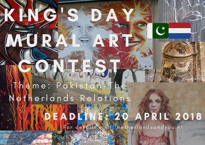 King's Day Mural Art Contest