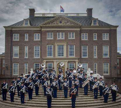 The Band of His Majesty's Royal Netherlands Marechaussee